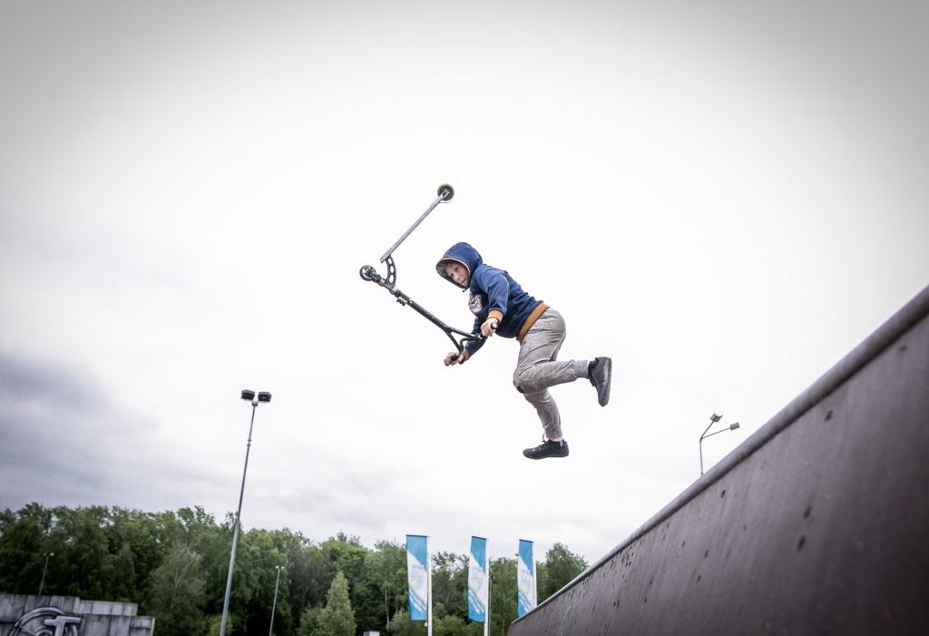 Десять скейт-парков построят вПодмосковье в2015 году